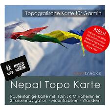 Nepal Garmin Topo GPS Karte 4GB microSD Garmin Navi, PC & MAC