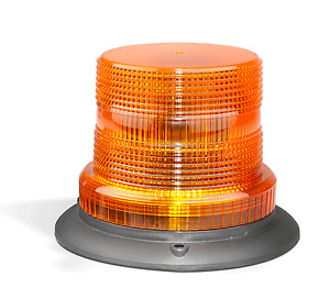 LED AMBER STROBE BEACON TRUCK TRAILER EMERGENCY 128AMF