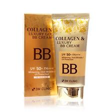 [3W CLINIC] Collagen & Luxury Gold BB Cream (SPF50+/PA+++) 50ml - Korea Cosmetic