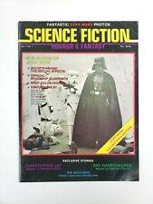 Science Fiction Horror & Fantasy Magazine #1 Star Wars Collectors Edition 1977