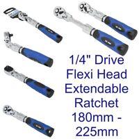 Flexible Extendible Socket Ratchet Handle 1/4 Inch Drive 72T US PRO 4156