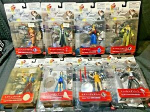 Final Fantasy VIII Bandai Extra Soldier Complete Set of 8 Figures