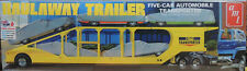 Skill 3 Model Kit Haulaway Trailer 5-car Automobile TRANSPORTER 1/25 AMT Amt1193
