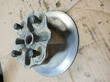 yamaha kodiak grizzly 450 400 left rear back wheel hub flange 05 2006 2007 2008