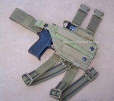 Holster Beretta M9A1 Drop Leg Multi-Config Blackhawk Usa Omega Pals Molle Coyote