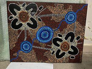 authentic aboriginal art Sheila Humphries *Read Description*