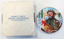 "Emmett Kelly Jr Flambo The Clown ""Christmas Feast"" Ltd Collector's Plate"