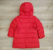 J Crew Crewcuts Girls Tie-Waist Down Puffer Jacket Coat Fleece Lined Sz 4 5 Nice