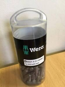 Wera 855/1 Z PZ 1 x 25mm Drill Bits (Approx.100 Drill Bits in Tub) NEW 072443