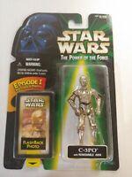 Star Wars C-3PO w/Flashback Photo -Action Figure 1998