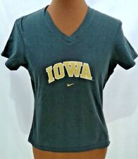 IOWA Hawkeye's T-Shirt Size Small 2-4 Nike Team Girls Juniors Pre-owned VG Cond
