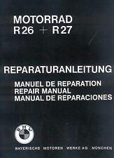 Werkstatthandbuch / Reparaturanleitung / Handbuch für BMW R 26 27 / R26 R27 neu