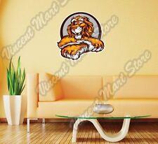 """Cute Lion Cartoon Face Head Circle Gift Wall Sticker Room Interior Decor 22""""X22"""""""
