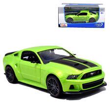 1:24 Maisto 2014 Ford Mustang Street Racer Metal Model Car Green