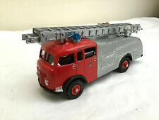 DINKY Code 3 Fire Engine  - red / grey - LONDON FIRE BRIGADE