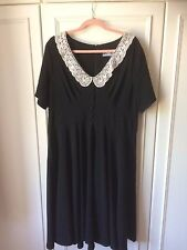 Hell Bunny 1940s style gothic dress 3XL (20/22)