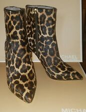 michael kors sonja boots real calf dyed fur size 5 1/2 M brand new