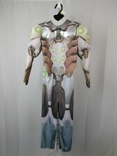 Overwatch Boy's Genji Muscle Chest Halloween Costume Jumpsuit 4-6 Small #7499