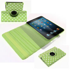 APPLE IPAD MINI CASE COVER+SCREEN PROTECTOR SWIVEL POLYURETHANE GREEN WAKE SLEEP