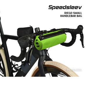 Speedsleev DIEGO SMALL Handlebar Bag Front Bicycle Storage Pack : GREEN