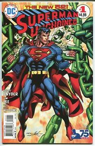 SUPERMAN UNCHAINED #1 NEAL ADAMS 1:50 VARIANT DC COMICS 2013 NM-