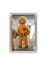 Gingerbread Man Fridge Magnet
