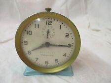 Vintage Westclox America Alarm Clock robin's egg blue parts or repair
