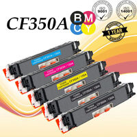 5 PK CF350A 351A 352A 353A Toner Cartridge For HP Color LaserJet Pro MFP M177fw