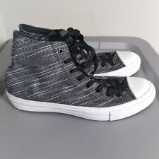 Converse All Star Chuck Taylor Men's Size 9.5 Shoes Black/White High Top Sneaker