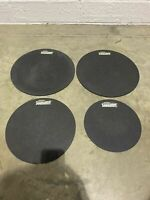 Evans Sound Off Fusion Size Drum Silencer Rubber Pads X4