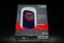 SanDisk Sansa Fuze+ Purple 8GB Digital Media MP3 WMA Player SDMX20R-008GI-E57 BN