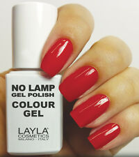 Smalto Layla no Lamp Gel Polish N. 8 Red Vegas