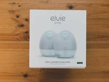 New Elvie Double Pump Silent Wearable Breast Pump w/ App ~Electric Hands-Free