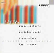 Steve Reich - Phase Patterns/Pendulum Music/Piano Phase/Four Organs ( CD 1999 )