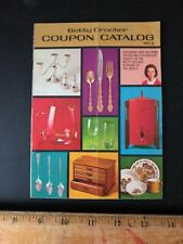 Vintage Original BETTY CROCKER COUPON CATALOG Used Booklet April 1971 Old