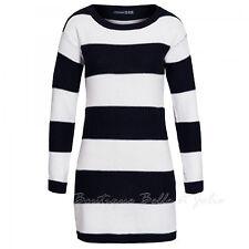 Lange Markenlose Damen-Pullover aus Baumwolle