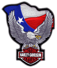 HARLEY DAVIDSON TEXAS UP WING EAGLE  PATCH (XXL)  HUGE