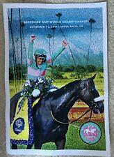 Zenyatta 10 Year Anniversary Breeders' Cup Classic Poster
