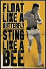 """Muhammad Ali - Poster (Float Like A Butterfly & Sting Like A Bee) (24"""" X 36"""")"""
