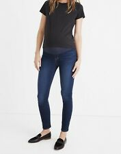 Madewell Maternity Over The Belly Skinny Jeans Size 25 Dark Hayes Wash