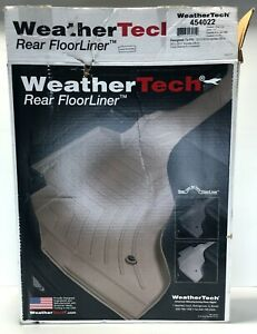 WeatherTech FloorLiner Floor Mats for Honda CR-V Fit 2012-2016 2nd Row Tan Beige