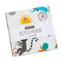 Moda Fabrics Charm Pack - Bicycle Bunch by Abi Hall