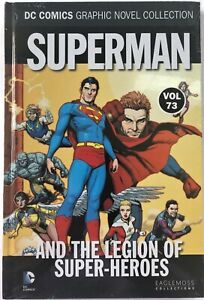 Superman and the Legion of Super-Heroes - Vol 73 Hardcover Eaglemoss BRAND NEW