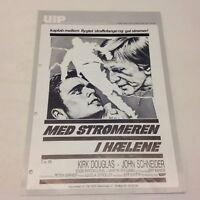 Eddie Macon's Run Kirk Douglas John Schneider 1983 Danish Movie Press Release