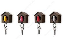 Bird Nest Sparrow House Key Chain Wall Hook Holder Keyring Plastic Whistle New