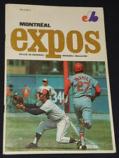 1970 MONTREAL EXPOS (2nd year in MLB) vs NEW YORK METS - PROGRAM Vol.2 No.3