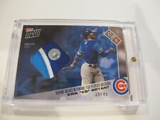 2017 Kris Bryant KB Topps Now Players Nickname Weekend Game Used Jersey 39/49