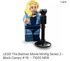 New Lego Batman Movie Series 2, No.19 Black Canary