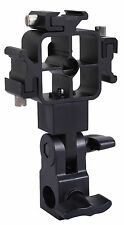Tri-Hot Shoe Mount Flash Bracket Umbrella Holder for Nikon Canon