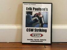 Striking Dvd focus mitts muay thai pads boxing kickboxing jab cross footwork mma